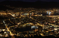 Bergen at night 1