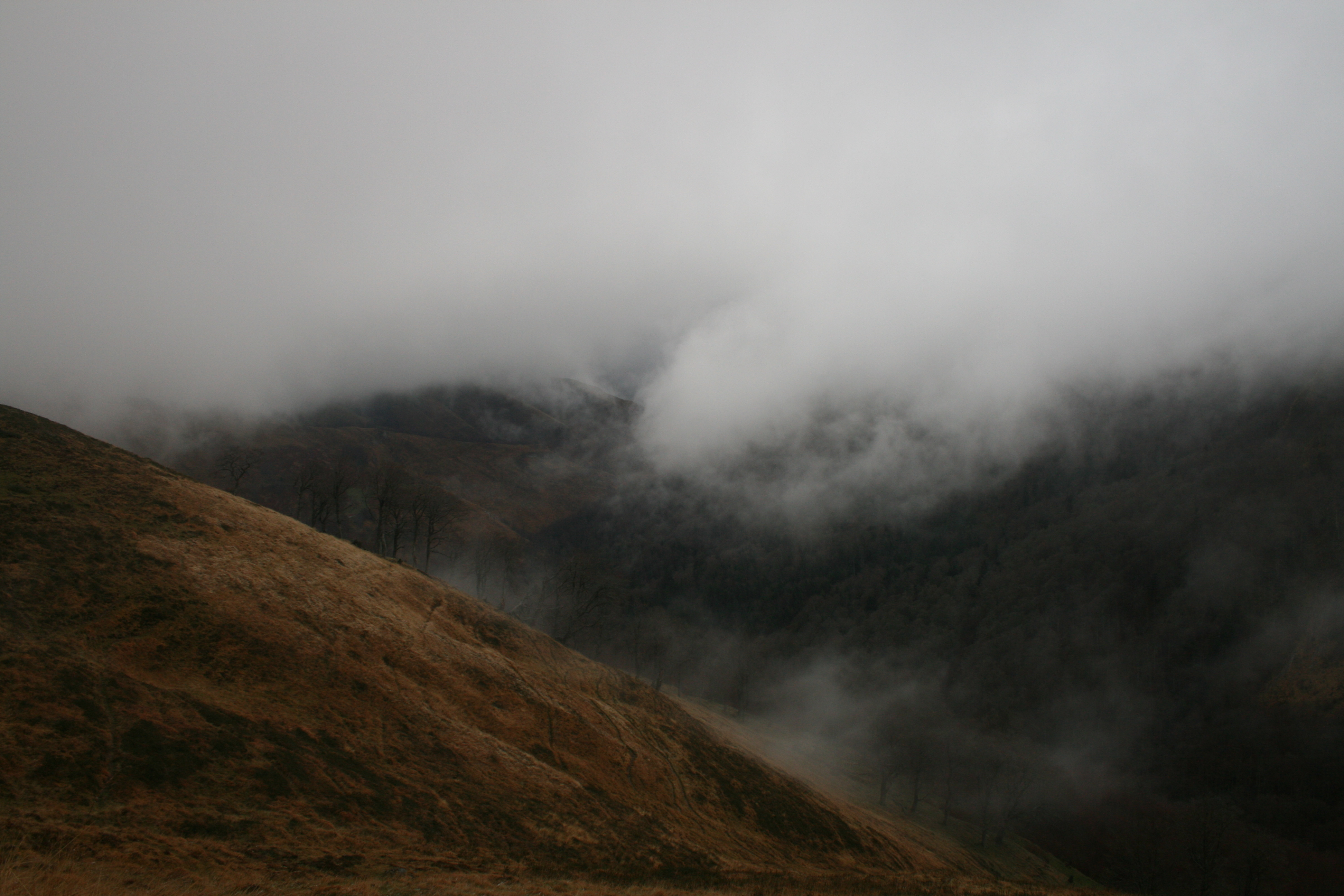 Low Clouds in a French Mountian Valley