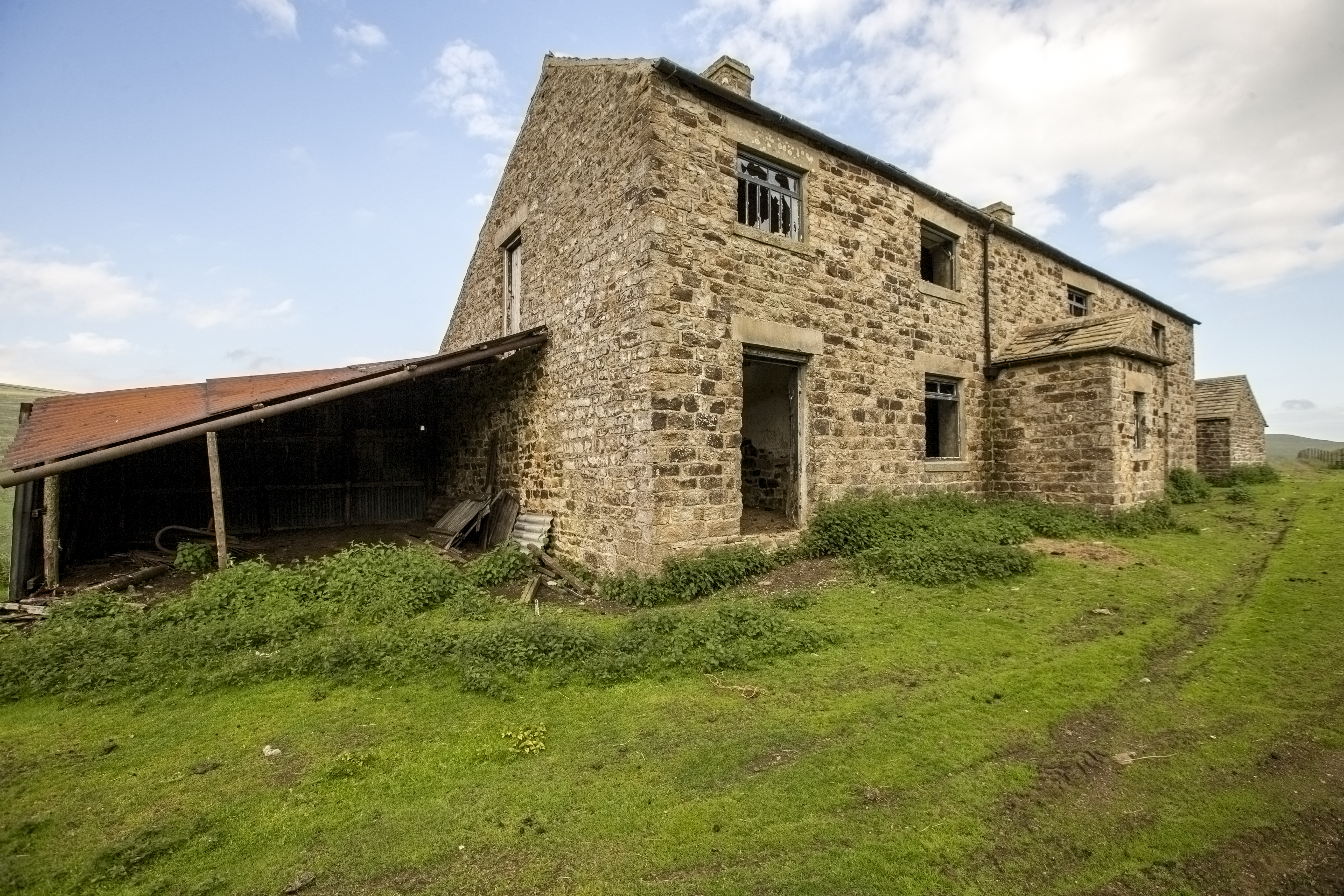 Ruined Mine Buildings: Co Durham