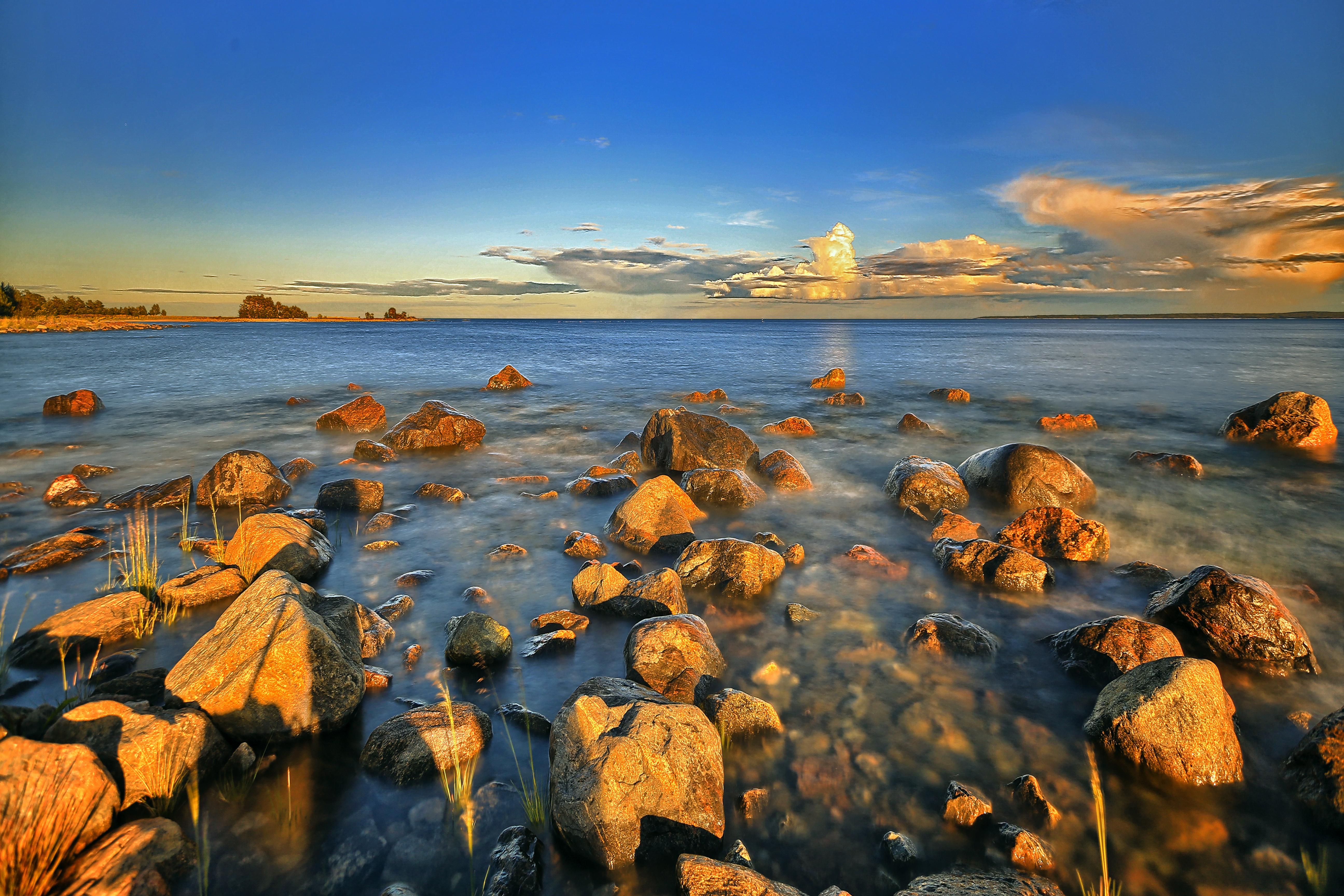 Baltic Coast in Sweden