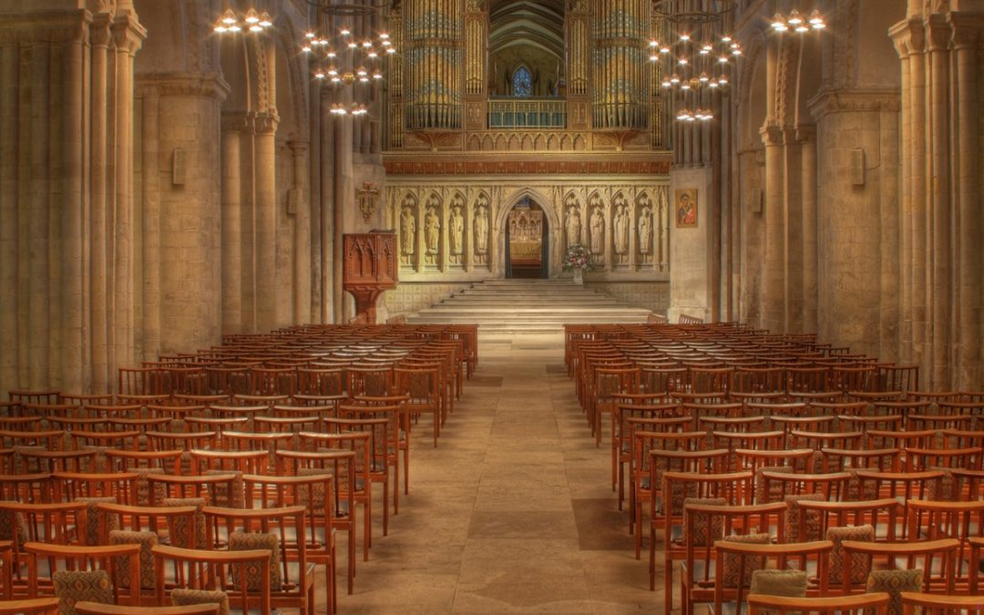 Nave and Pulpitum Screen, Rochester Cathedral, Kent