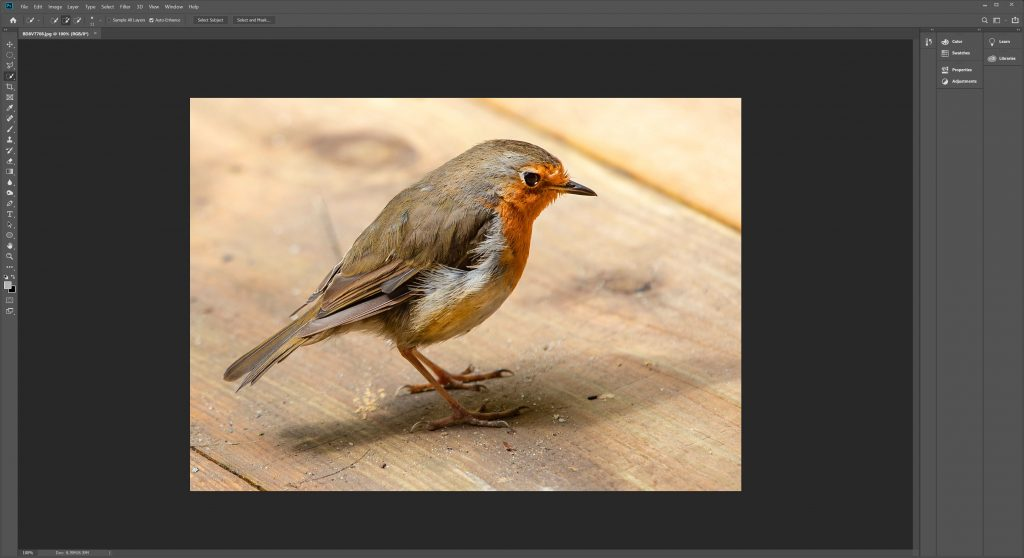 How to Create a Monochrome Colour Wash Image In Photoshop